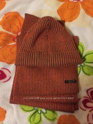 Набор шапка шарф Sisley оригинал