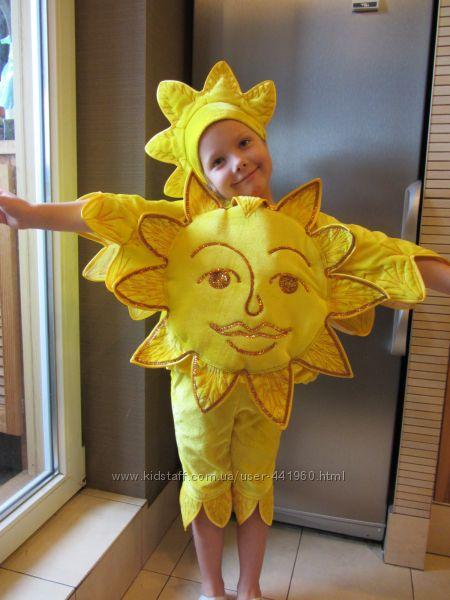 Костюм солнца для девочки своими руками