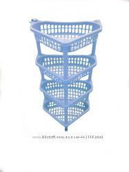 Этажерки пластиковые для кухни, ванной