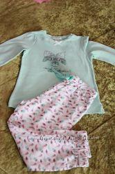 Нежнейшая ночнушечка  и две уютные пижамки для принцессы от  Mayoral