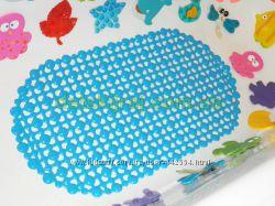 Антискользящий коврик в ванну