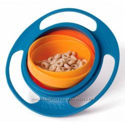 Тарелка-непроливайка неваляшка Gyro Bowl