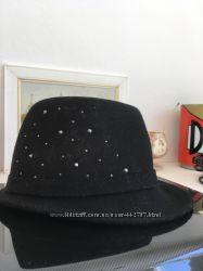 Шляпа из фетра h&m 53-54 объём или 8-10лет