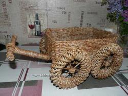 Плетенные изделия ручной работы