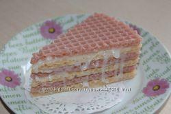 Мыло Кусочек вафельного тортика