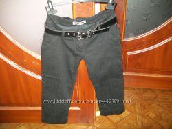 Бриджи женские р. 36 джинс  флис утепленные
