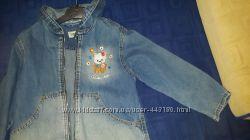 Куртка ветровка джинсовая для девочки на рост 110 Gloria Jeans