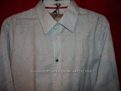 Стильная рубашка с узором,   Relarz Италия р. L