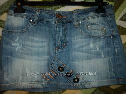 Юбка джинсовая р. 28