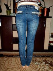 Классные джинсы Италия р. М-Л. Снизила цену