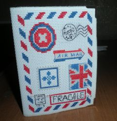 Обложка на паспорт из винила Конверт ручная работа