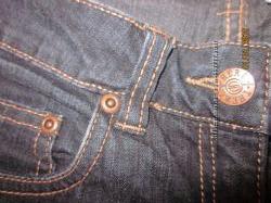 джинсы скини на девочку HERE&THERE рост до 146см