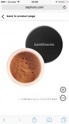 Bareminerals бронзатор, loreal пом-лак