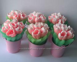 Мыло мыльное Женское Цветочки
