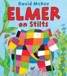 Английские книги о слоненке Elmer