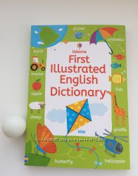 Английский словарь Usborne First Illustrated English Dictionary