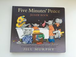 Английская книга-пазл Five Minutes Peace Jigsaw Book