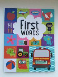 Английская книга First words