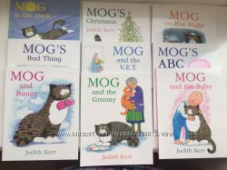 Английские книги о коте MOG