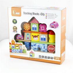 Набор кубиков Viga Toys Город