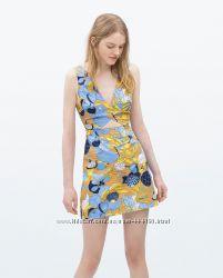 Новое цветное платье ZARA оригинал