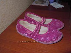 Мокасины фиолетовые для девочки