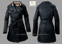 Модное стеганное пальто Burberry