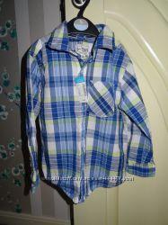 Хлопковые рубашки для мальчика  Old Navy, Childrens Pace 4Т