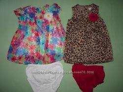 Наши платья Childrens Place 12-18 мес Состояние новых