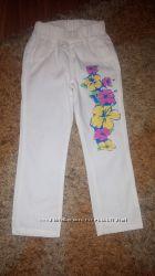 Модные брюки на девочку