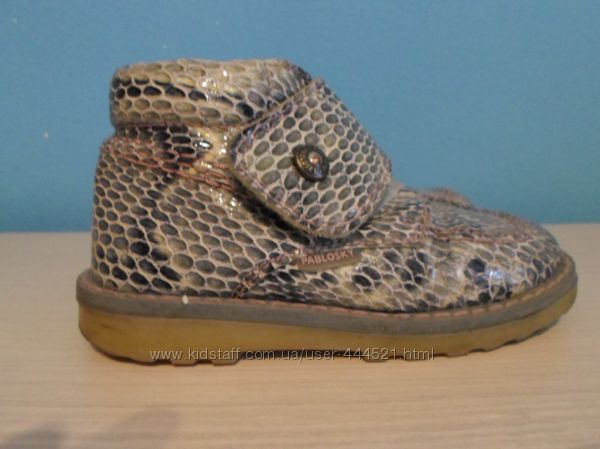 Демисезонные ботинки Pablosky 25р бу