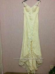 Эксклюзивное свадебное платье испанского бренда White one