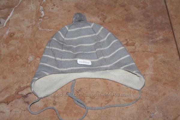 Продам детскую шапочку reima на флисе