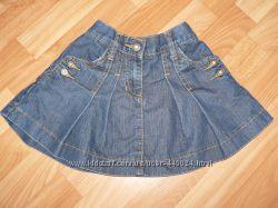 Продам джинсовую юбочку фирмы Adams на 5 лет 110 рост