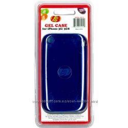 Ароматизированный чехол Jelly Belly черника для iPhone 3GGS