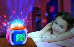 часы с будильником звездное небо