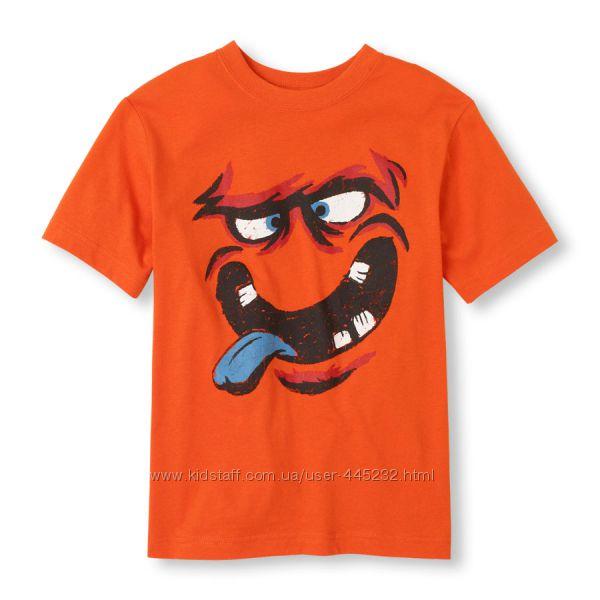 Яркие футболки  мальчишкам Childrens Place