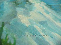 Акрил картина Mountain