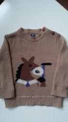 Теплый шерстяной свитерок Girandola р. 86