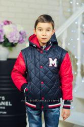Деми-куртки и парки для мальчика