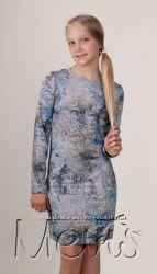 Демисезонное подростковое платье