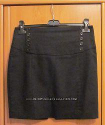 Zara юбка с пуговками