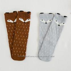 Fox Socks необычные весёлые гольфы лисички для деток