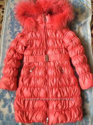 Пуховое пальто Snowimage 9-10 лет на 140 см