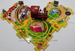 Управляемые пазлы в виде железной дороги Puzzle Pilot, развивающая игрушка