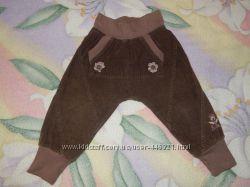 Продам вельветовые штаны на подкладке 92 размера