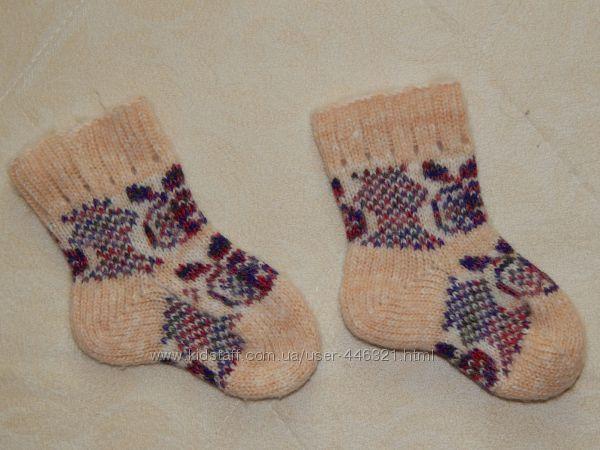 Продам носки  100  шерсть 14 см