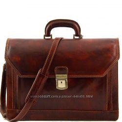 ROMA - брэндовый кожаный портфель бизнес-класса Италия