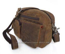 Напоясная или наплечная сумочка Лошадиная кожа