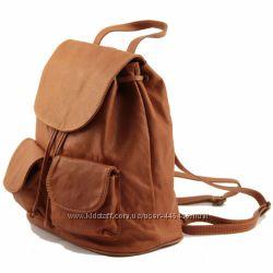 Seoul - модный брэндовый кожаный рюкзак, мягкая телячья кожа